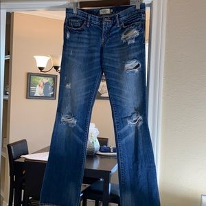 Abercrombie & Fitch Women's Jeans pre-distressed